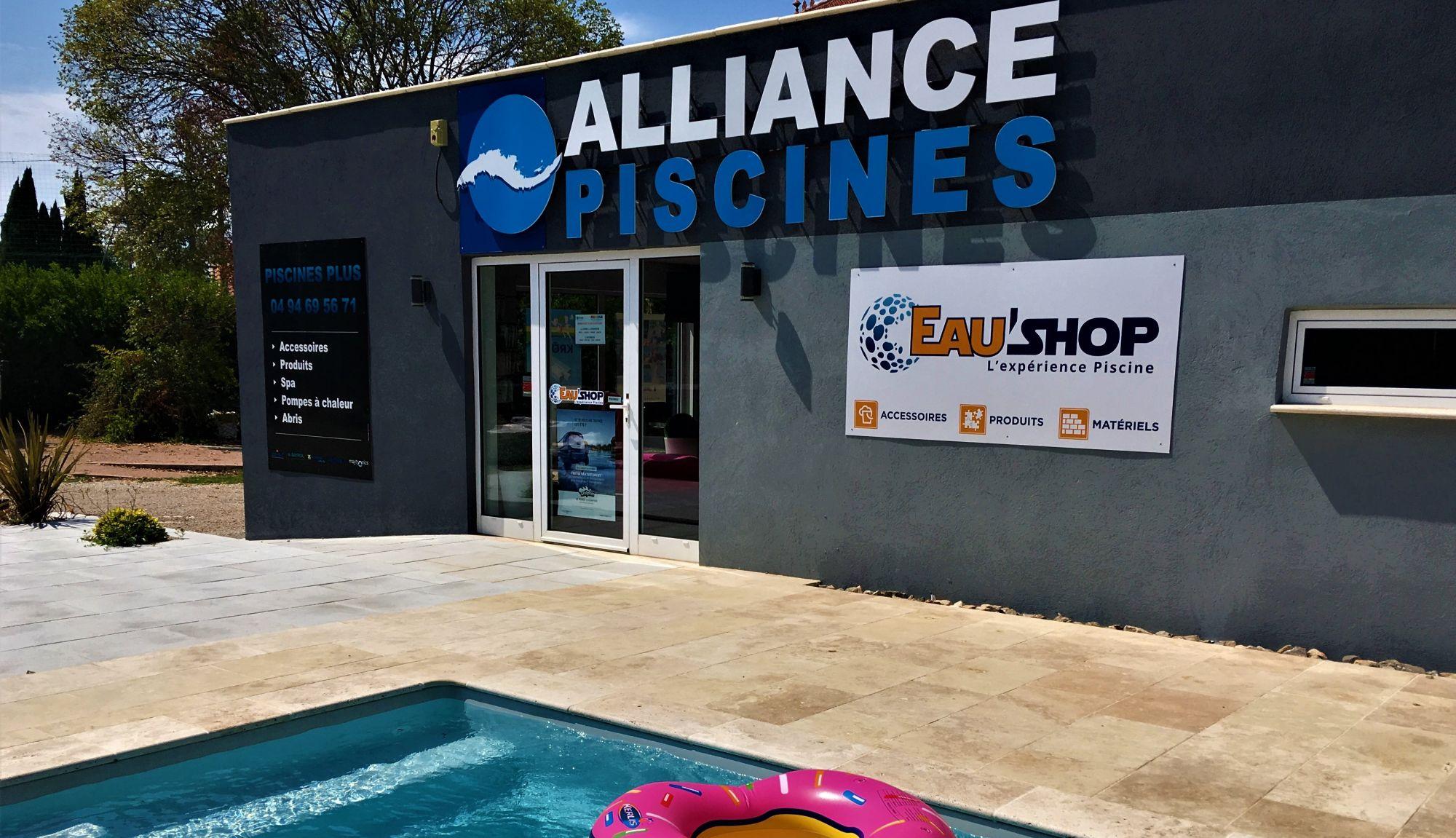 Materiel Piscine La Ciotat magasin piscines plus : alliance piscines brignoles