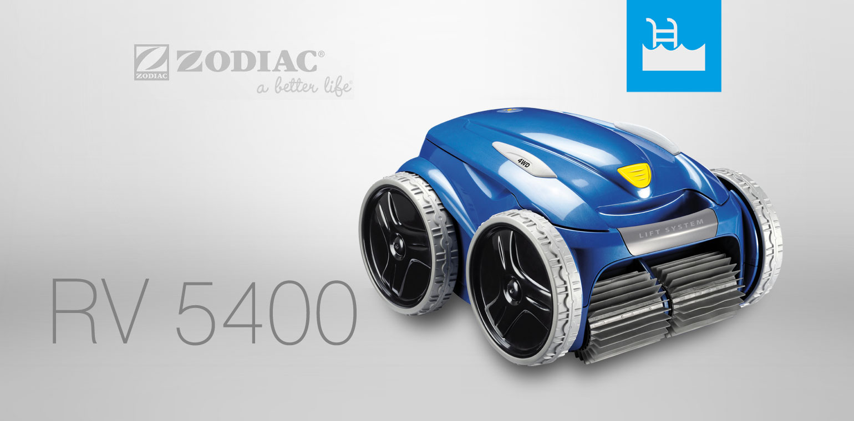 Achat d 39 un robot rv 5400 vortex pro 4wd zodiac for Aspirateur piscine zodiac vortex 3 4wd